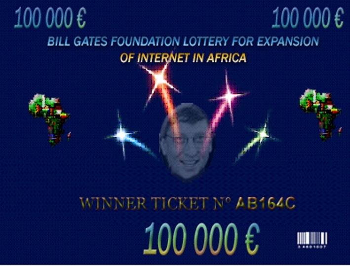 Microsoft Lottery Ticket