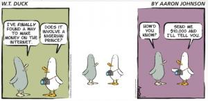 W.T. Duck by Aaron Johnson